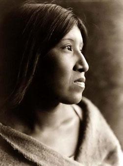 Femme Sioux du Lakota