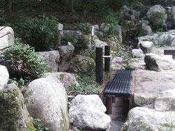 水を汲む蛇口が新たに設けられました。