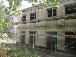 Mauerwerksbau als Neubau