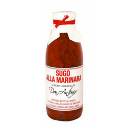 Salsa de tomate alla Marinara en bote de 500gr (7,00€ und)