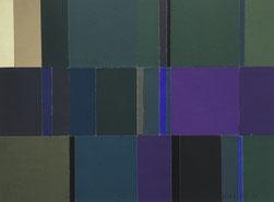 Ohne Titel | 2020 | 28 x 38 cm | Leimfarbe auf Karton