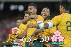 Japan -v- Australia