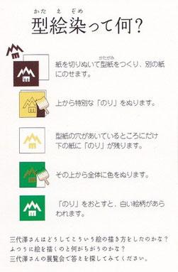 松本市美術館の子ども向け資料です