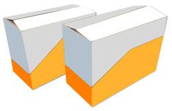 Displayverpackung mit Perforation Shelf-Ready Packaging