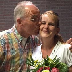 Rechts: vrouw van Henk Smit ( Jolanda)