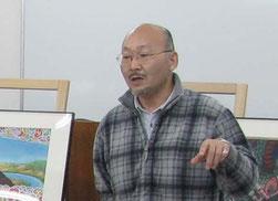 塾長の講義風景の画像