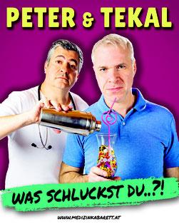 Peter & Tekal Was schluckst du? Medizinkabarett Stadtgalerie Mödling