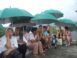 Thailand am 11. April 2012 - erneute Sorge vor einem Tsunami in Khao Lak, Phuket