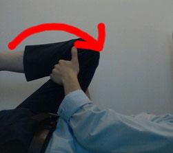 腰椎椎間板ヘルニアのストレッチ