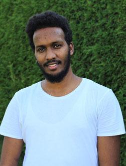 Ibrahim Hassan, Auszubildender
