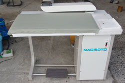 FB-85W 白 バキューム台   ナオモト NAOMOTO アイロン台
