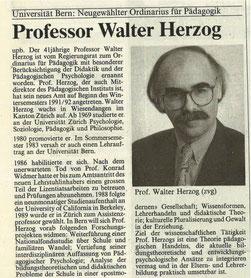 «Der Bund» vom 10.10.1991. Seite 31