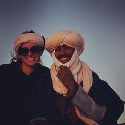 Karen et Saïd de l'agence Mélodie du désert, voyage et trek Maroc