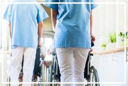 Mitarbeiter Pflege, Altenpflege, Vermittlung inoflex Zeitarbeit