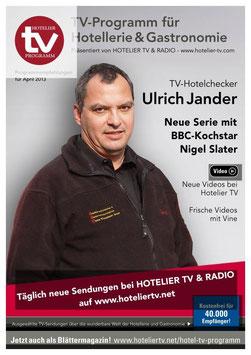 HOTEL TV PROGRAMM - April 2013