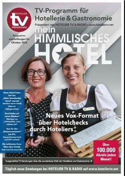 HOTEL TV PROGRAMM Oktober 2013 - Cover