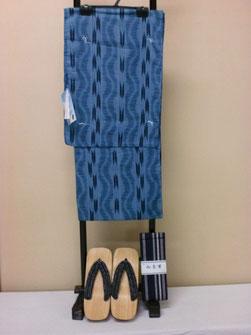 男仕立て上がり浴衣3点セット 11,200円
