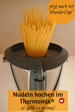 So kochen Sie Spaghetti im Thermomix