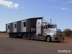 Australien - Outback - Motorrad - Reise - Road Train