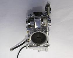 Custom 48mm PR/Mikuni Carburetor (polished & chromed) (# 2014) 545 US Dollar
