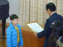 坂本涼君と武市理事長