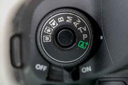 Kameraeinstellungen Aufnahmeprogramme - die Programmautomatik