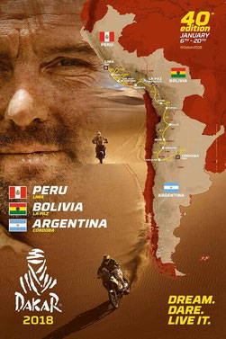 2018 Dakar Rally Route