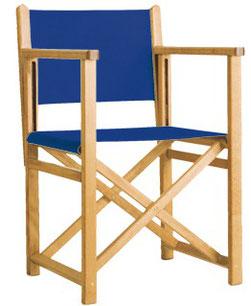 sillón plegable director menorquina de exterior terraza y jardín