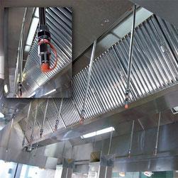 ansul grossküchen brandschutz - löschsystem fritteuse