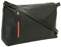 sac main en cuir noir, Dune Saule Paris, Label Fabriqué à Paris