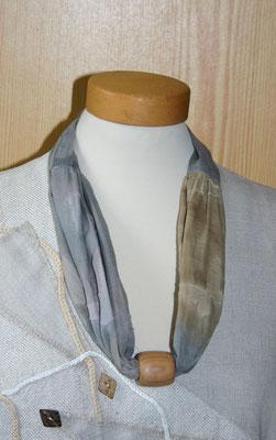 Naturschmuck Baumwollkette mit Holzperle