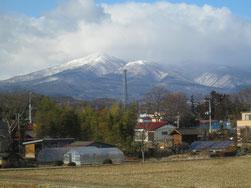 「智恵子抄」の安達太良山が見えると旅も終わりです