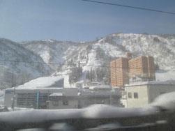 トンネルを抜けたら…雪国!!!でした