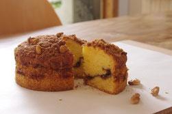 カフェタイムケーキ