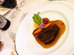 ララシャンス博多の森お肉料理