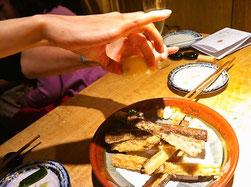 久留米市道安ごぼうの天ぷら