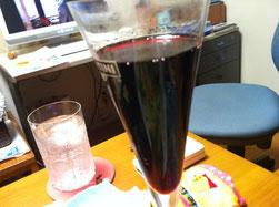 女子会赤ワイン