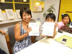 「両手いっぱいのありがとう」クーリカン智子さん