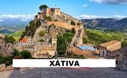 Xàtiva es una ciudad de Valencia en la Comunidad Valenciana (España)