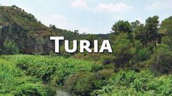 parque Natural del Turia en la Comunidad Valenciana.