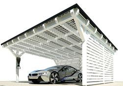 Solarcarport BMW