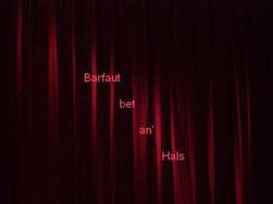 31.05.2013 Barfaut bet an' Hals