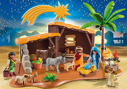 Playmobile: Grosse Weihnachtskrippe