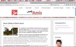 Article sur les ateliers théâtre de l'Université d'été de La Vie. Juillet 2014