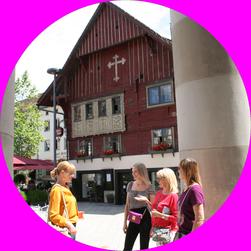 Das Rote Haus ist das Wahrzeichen von Dornbirn