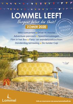 Dirk Van Bun Communicatie & Vormgeving - Grafisch ontwerp - reclame - publiciteit - Lommel - Affiche Lommel Leeft