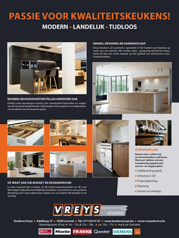Van Bun Communicatie & Vormgeving - Grafische vormgeving - Lommel - Advertentie - Vreys Electro