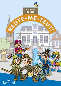 Dirk Van Bun Communicatie & Vormgeving - Grafisch ontwerp - reclame - publiciteit - Lommel - Affiche Op stap met de hele Reutemeteut - Kinderzoektocht