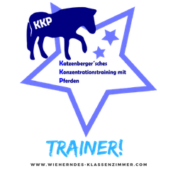 Zertifizierte KKP Konzentrationstrainer mit Pferd