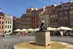 Parque de Łazienki, Ruta Real, Ciudad Vieja y Nueva y el antiguo gueto judío